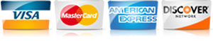 For AC repair service in Winchester VA, we accept most major credit cards.