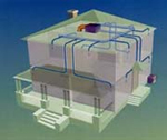 Mini-Duct Air Distribution System Diagram